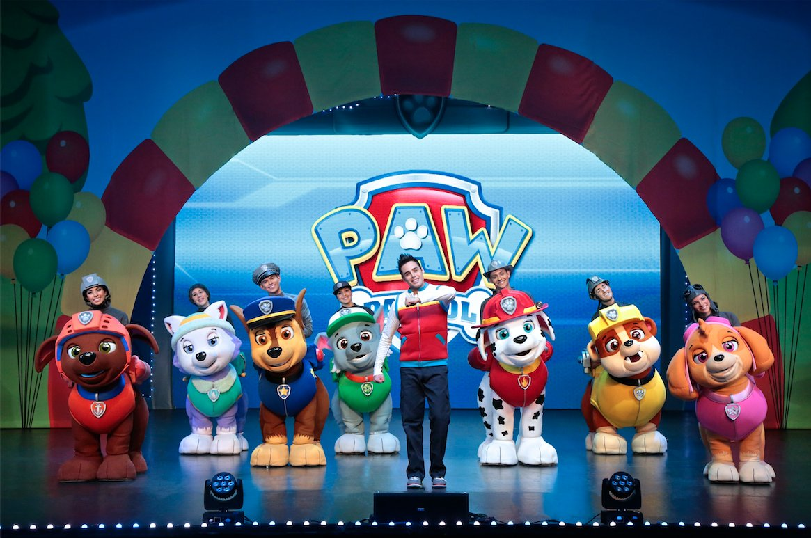 PAW Patrol Live! Race to the Rescue.