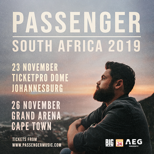 PASSENGER CONFIRMS SOLO SOUTH AFRICAN DATES