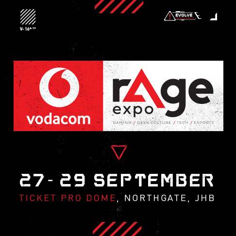 Vodacom has announced that it will partner with rAge Expo as the event's title sponsor.
