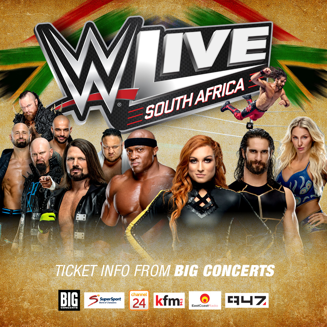 WWE LIVE™ RETURNS TO SOUTH AFRICA